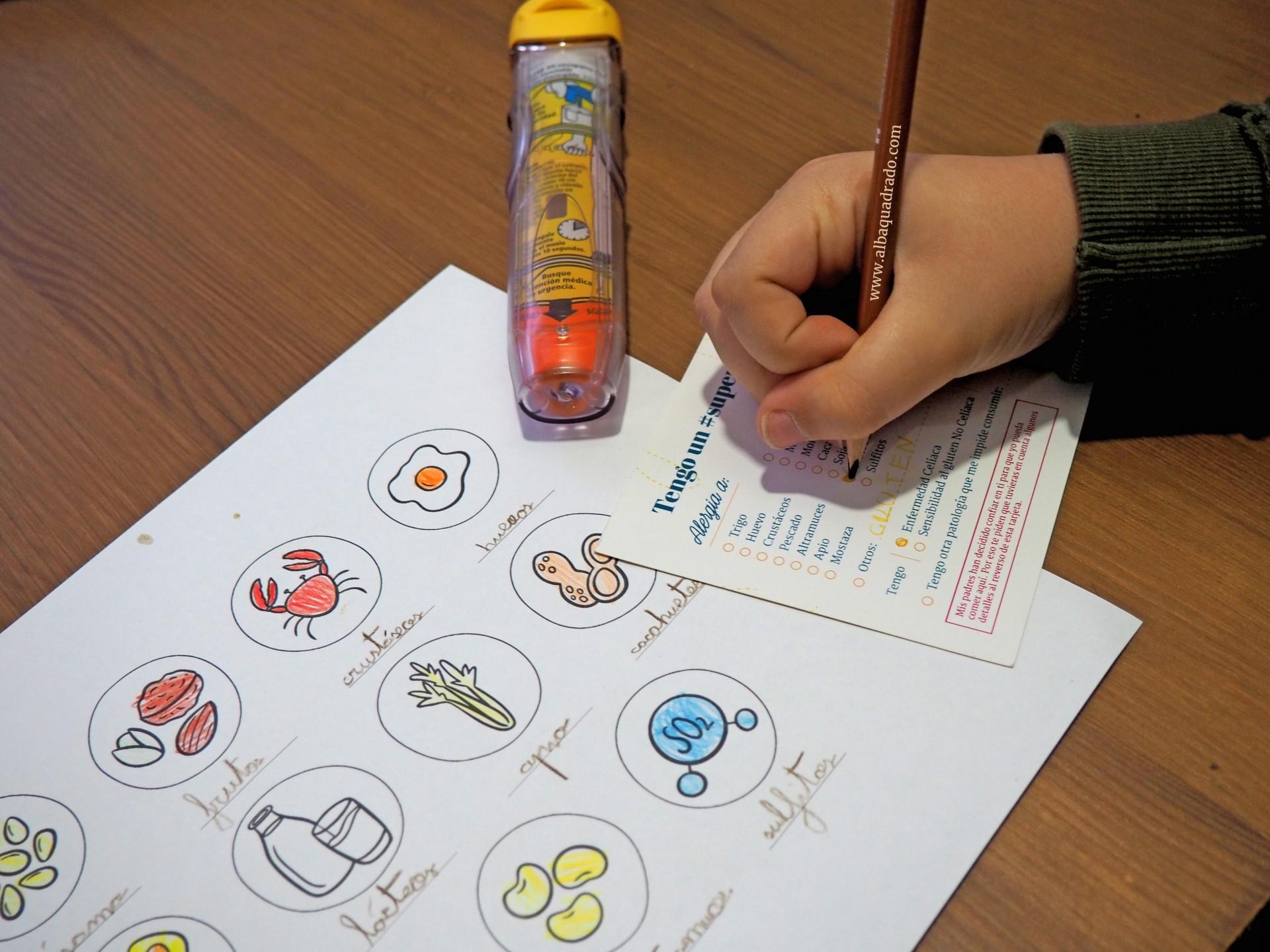 ¿Cómo explicarle a los niños LOS ALÉRGENOS ALIMENTARIOS? + REGALO para colorear