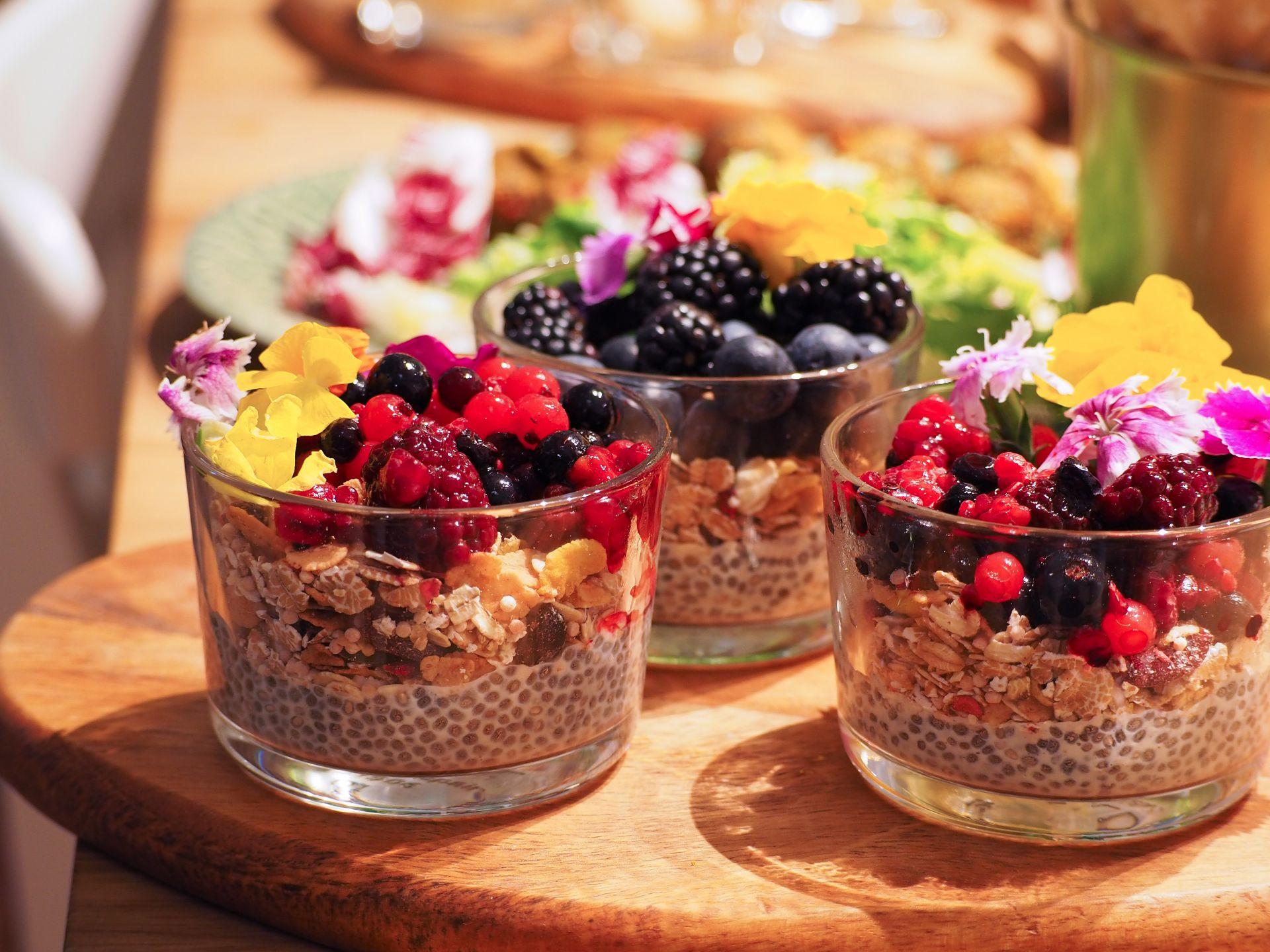 Receta Pudding de Chía sin alérgenos comunes