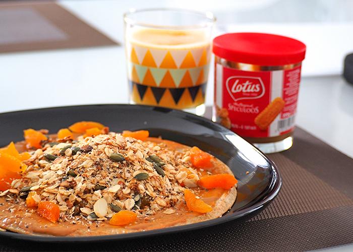 Receta Crêpes/ tortitas sin gluten, leche ni huevo. Todo con harina de trigo sarraceno