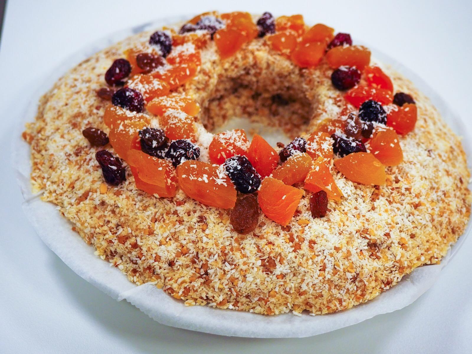 Receta roscón de Reyes vegano (SIN leche, SIN huevo, SIN gluten) y SIN horno